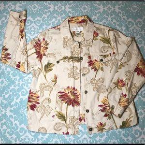 Casual Cotton Jacket Susan Bristol